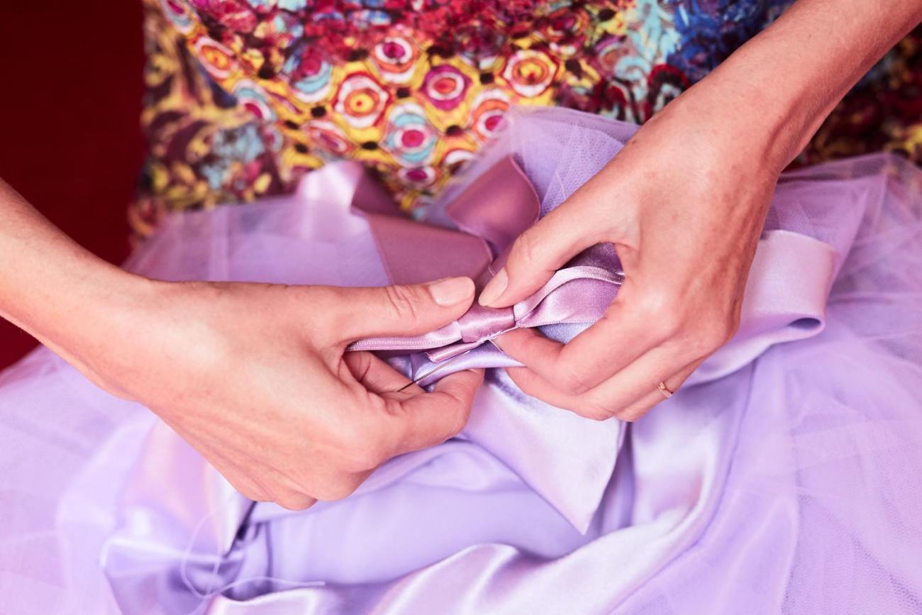 Recoudre la robe de mariage à la dernière minute