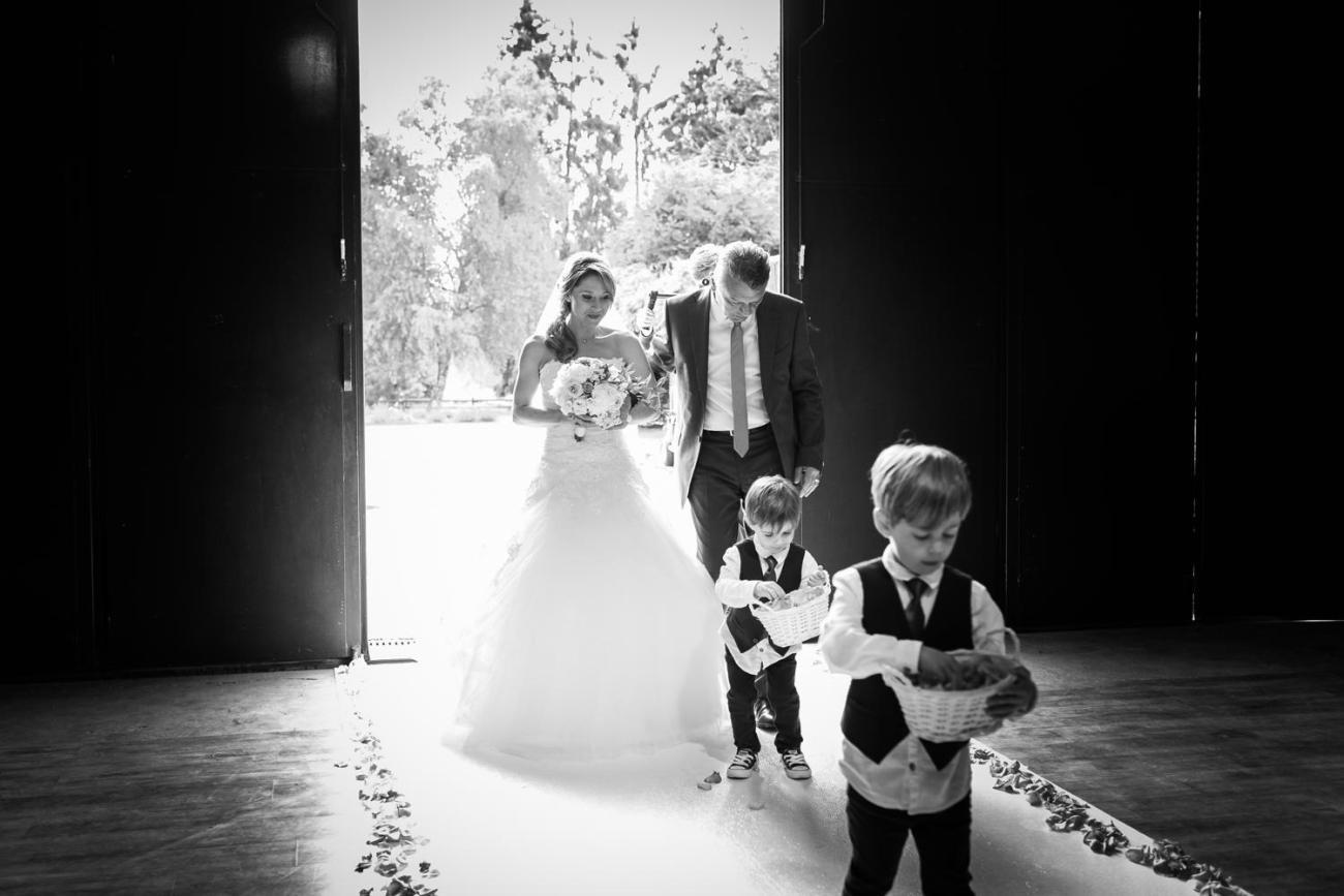 Cérémonie laïque d'un mariage au Domaine de la Butte Ronde à La Boissière-École dans les Yvelynes
