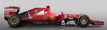 Ferrari SF15-T 2015 bok
