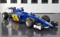 Sauber C34 Ferrari skos 2015