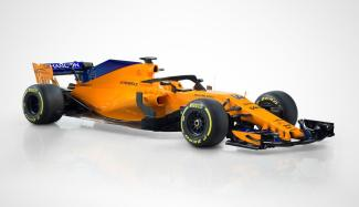 McLaren MCL33 skos prezentacja