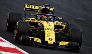 Renault R.S.18 Testy Barcelona Sainz 2018