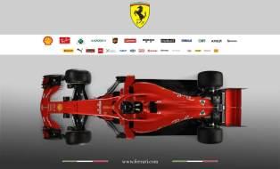 Scuderia Ferrari SF71H góra1