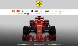 Scuderia Ferrari SF71H przód 2