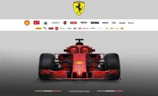 Scuderia Ferrari SF71H przód