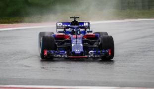 Toro Rosso Honda STR13 przód Misano
