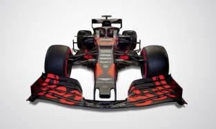 2019 Red Bull RB15 prezentacja grafika przód