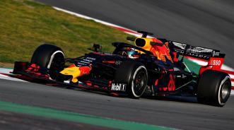 2019 Testy Barcelona Red Bull Gasly