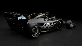 Prezentacja Haas F1 Team VF-19 tył