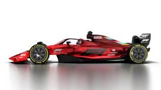 Wizualizacja bolidu F1 na sezon 2021 06