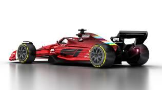 Wizualizacja bolidu F1 na sezon 2021 07