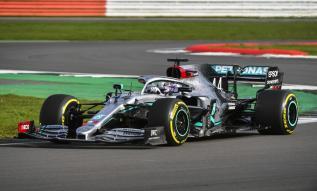2020 Mercedes W11 prezentacja Hamilton 02
