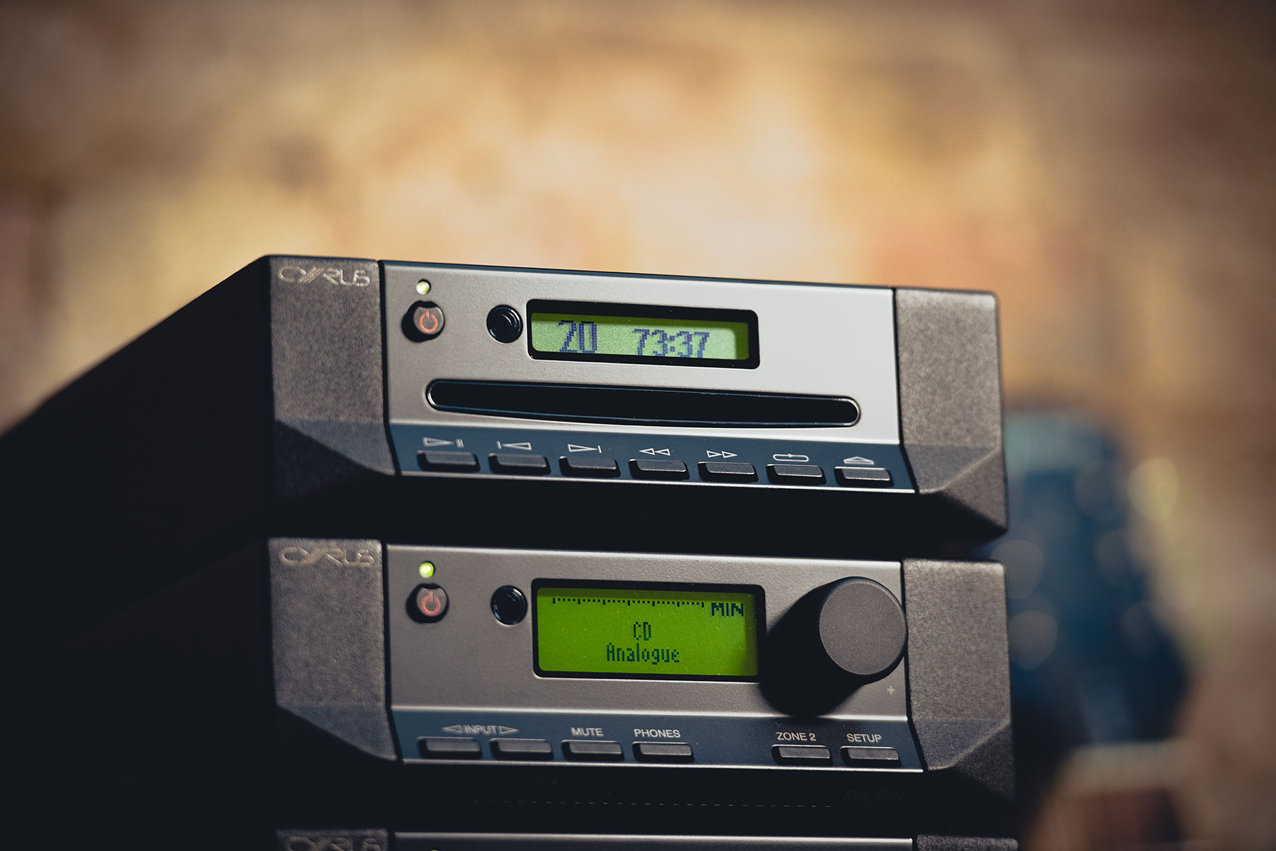 Cyrus 6 Dac Integrated Amplifier With Digital Inputs And