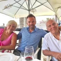 Viktor Margita se svými rodiči - Marií a Jánem