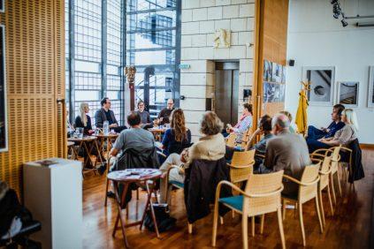 Diskuze na téma autorské divadlo v Českém centru v Paříži @Tereza Veselá