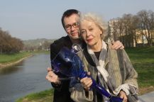 Thálii získala Květa Fialová v 81 letech za roli Maude v představení Harold a Maude_foto Jan Karásek_repro zdarma
