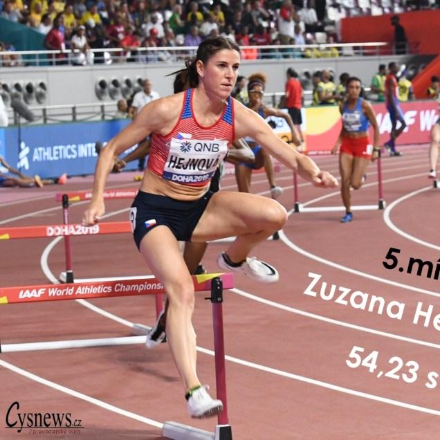 Zuzana Hejnová , finále MS Doha 2019 , foto Iva Roháčková