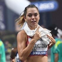 Anežka Drahotová, 20 km chůze 19. místo MS Dauhá 2019 (27)