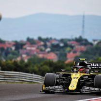 Esteban Ocon (FRA) Renault F1 Team RS20. Hungarian Grand Prix, Friday 17th July 2020. Budapest, Hungary.