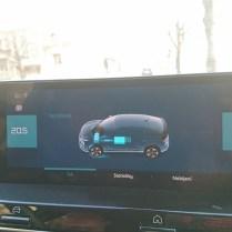 Citroen obrazovka dobíjení
