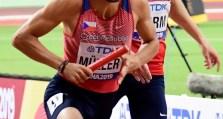 štafeta 4x 400 m muži