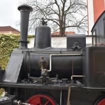 Káva s párou lokomotiva 1