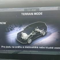 Terrain mode Snow