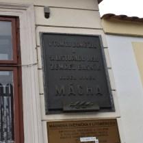 litoměřice památník K. H. Máchy