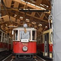 historická tramvaj 412 svatba
