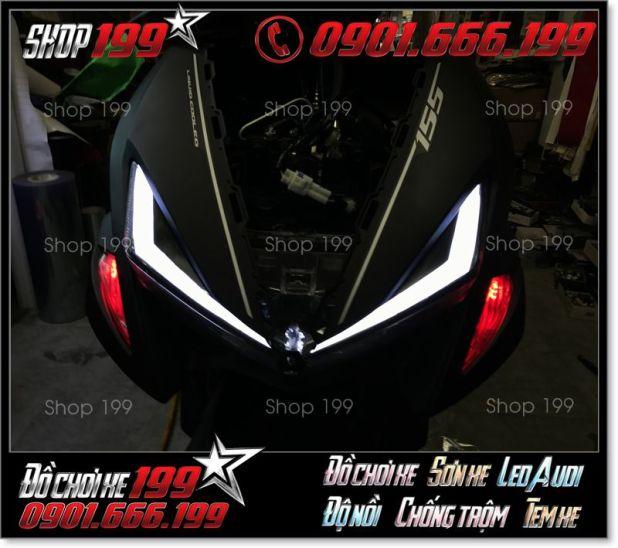 Hình ảnh độ led audi nvx 155 125 cực đẹp giá rẻ ở shop 199 HCM