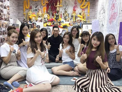 アイドルやモデルも毒牙に!? 「セックスで運気注入!」していた香港のエロ黒魔術師を逮捕の画像2