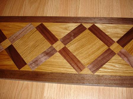 Example of Hardwood or Stone floor Medallion Borders