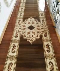 Example of Hardwood or Stone floor Medallion, Borders ...