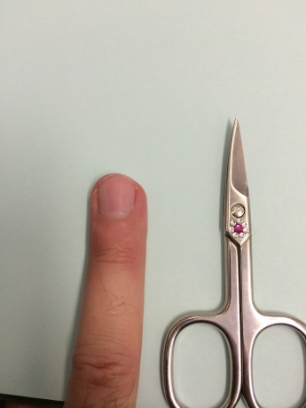 Scissors after