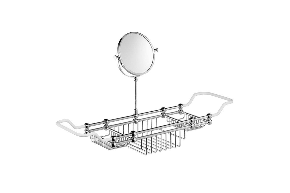 Edwardian Bath Rack with Mirror