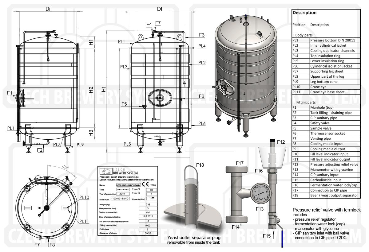 Maturation Tanks