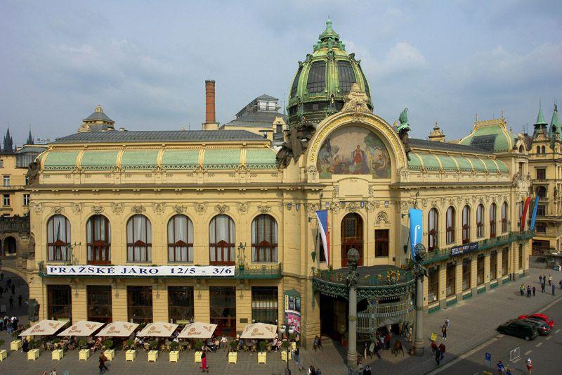 Czech Republic Municipal House In Prague