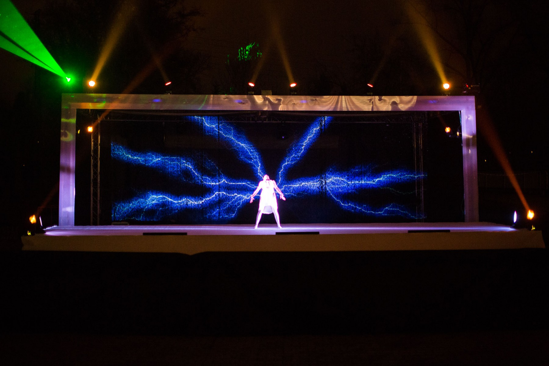 Multimedia Water Stage Show  Plze Plaza