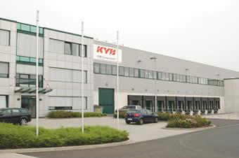 Siedziba KYB Europe w Niemczech