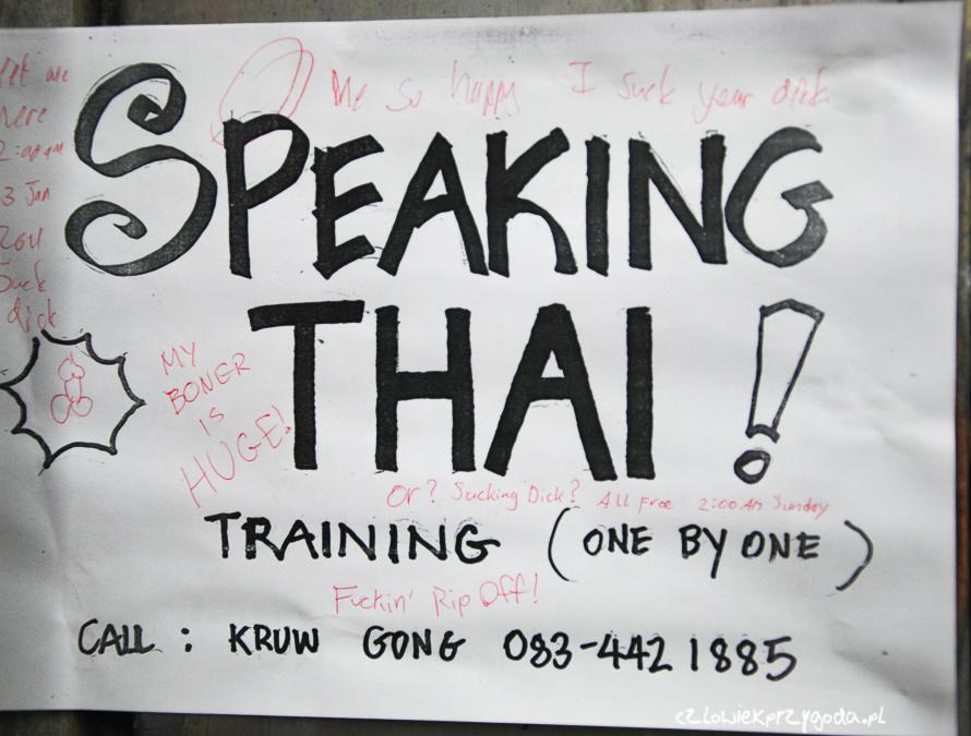 seksturystyka w Tajlandii