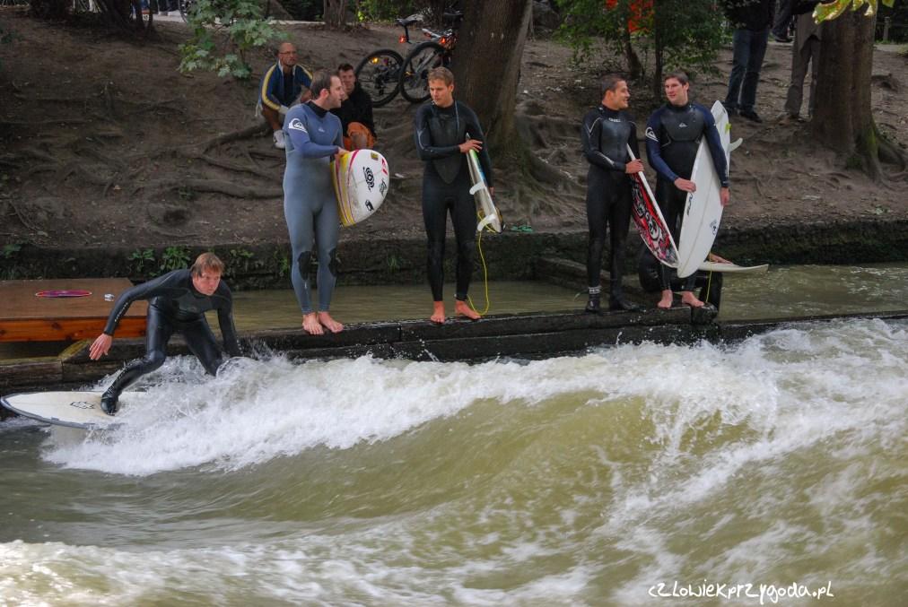 Surfowanie Eisbach