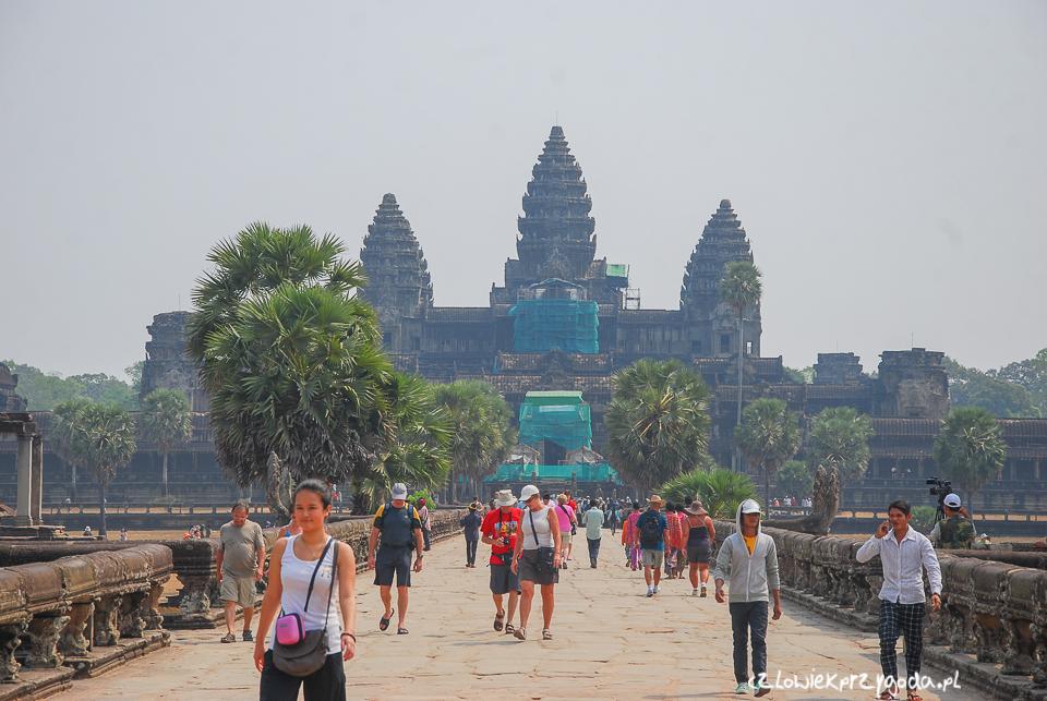 Wizyta w Angkor Wat