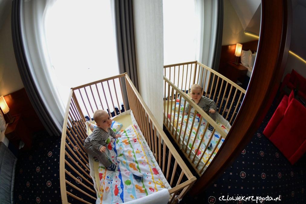 Hotel przyjazny rodzinie.