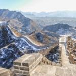 Zwiedzanie Muru Chińskiego Zimą