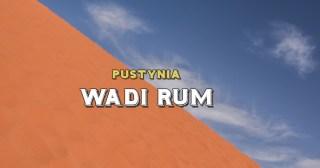 Wadi Rum Pustynia