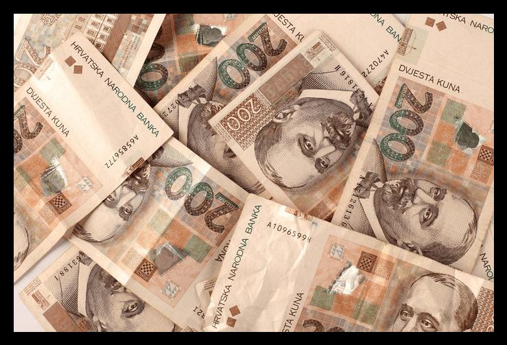 novčanice od dvjesto kuna - naknada za troškove stanovanja