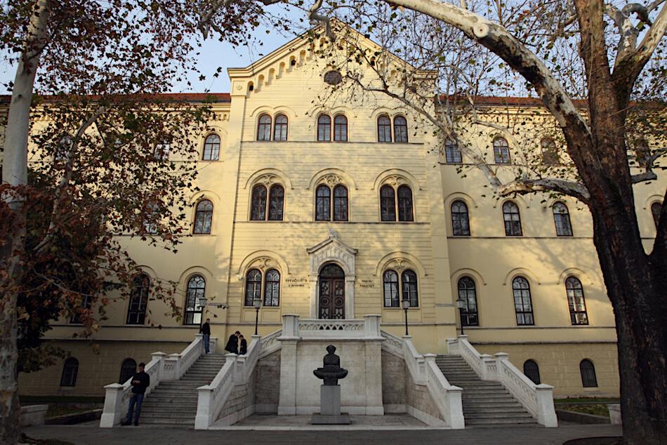 Fotografija zgrade Pravnog fakulteta u Zagrebu
