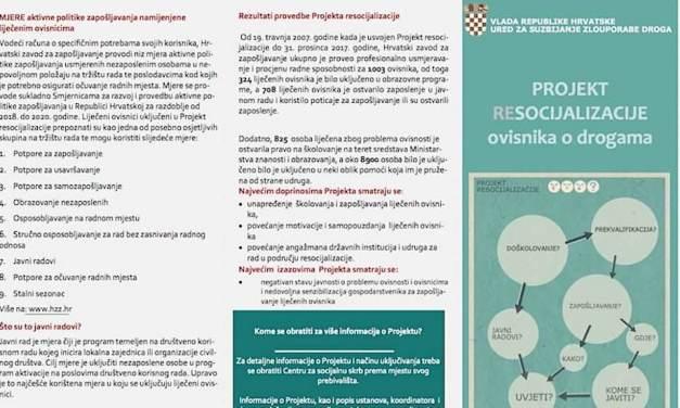 Projekt resocijalizacije ovisnika o drogama