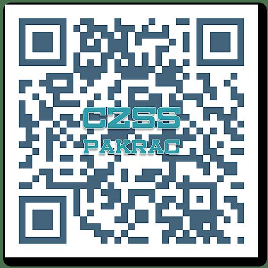 QR kod i logotip Centra za socijalnu skrb Pakrac