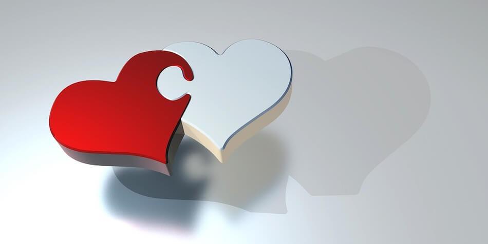 Spojena dva srca - dekoracija za promociju udomiteljstva
